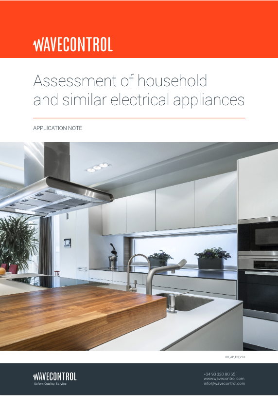 Assessment of household and similar electrical appliances