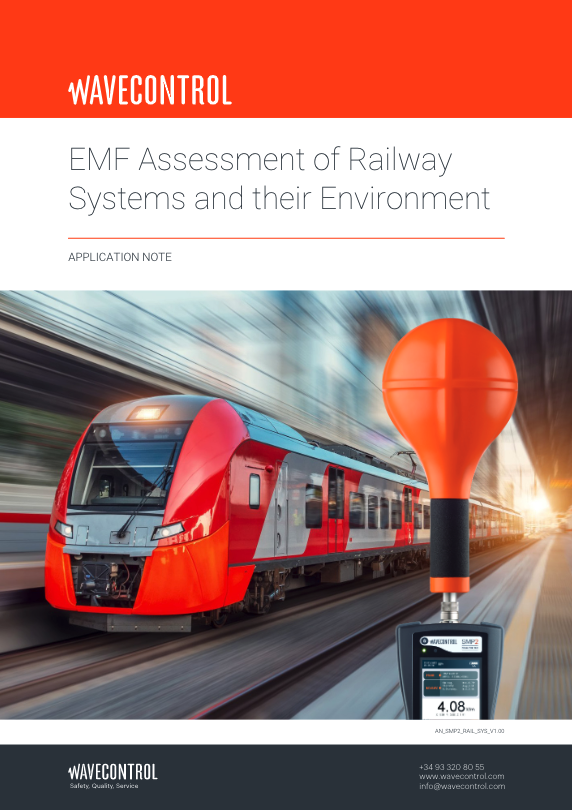 EMF Assessment of Railway Systems and their environment