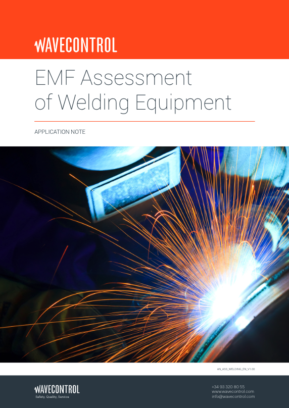 EMF assessment of welding equipment