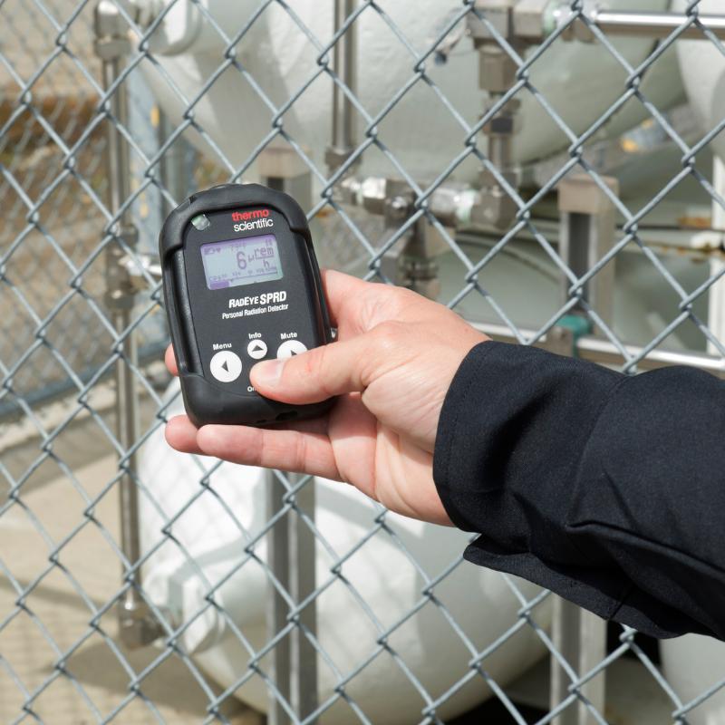 Handheld Radiation Meter