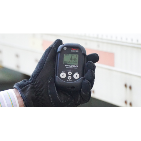 Radiation Detector and Analyser with Extended Range