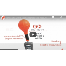 VIDEO - MONITORING EMF RADIATION IN THE FIELD