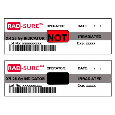 Rad-sure X Ray Blood Irradiation Indicators
