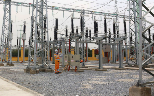 Testing for EMF Emissions around Power Lines